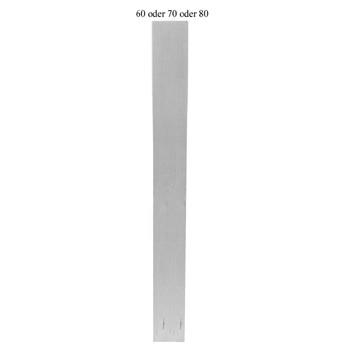 Eckiges Tischbein Art. 63110 Maße: 70*70mm, ca. 760mm lang