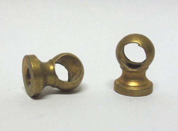 Kloben 1Stück, Art. 5172/1 ca. 5,5mm Bohrung, duchbohrt