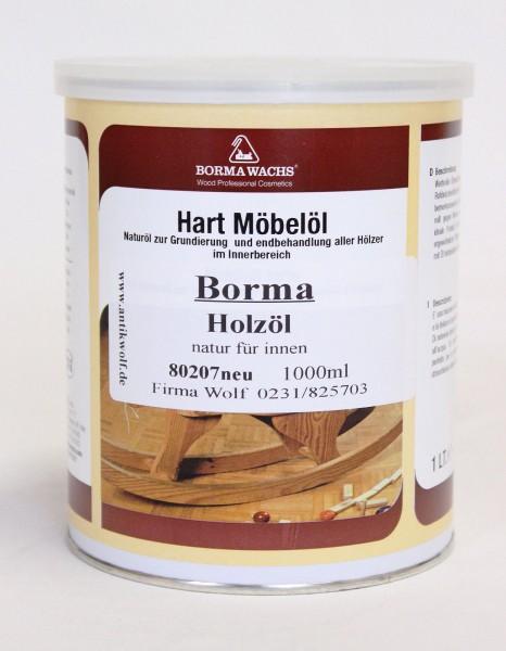 Borma Holzöl innen - 1L, Artikel 80207neu