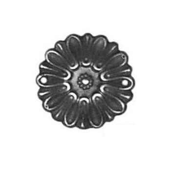 Rosette Art. 3435 Messing ca.Ø 35mm - Auslauf-Artikel!