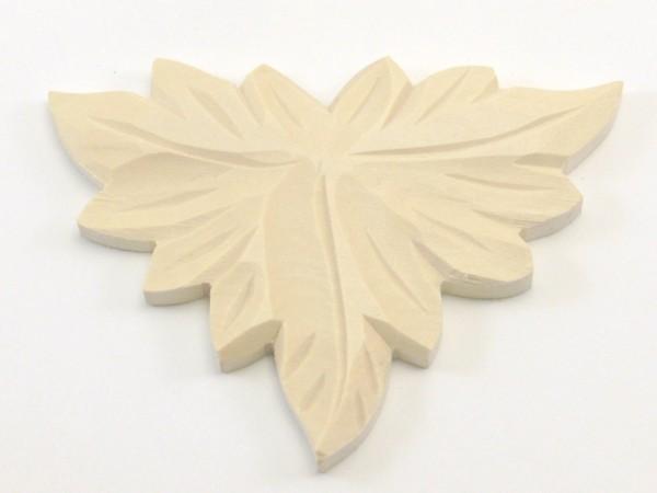 Geschnitzte Auflage ca. 65*85 mm, Linde, Art.65042