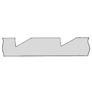 Leiste Zahn-Leiste Fichte ca. 18*28mm, ca. 1,98m lang. Art. 9034F