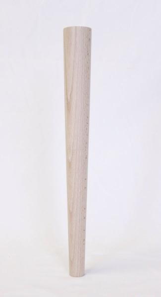 Tischbein rund konisch Maße: Ø 25 zu 45 mm/400mm lang, Art.63126