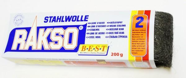 Rakso Stahlwolle Sorte: 2 mittel, Art.502