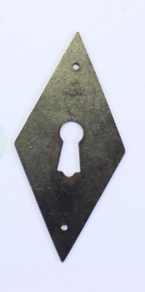 Biedermeier Beschlag Art. 1064 in Messing oder Eisen, ca. 72*35mm