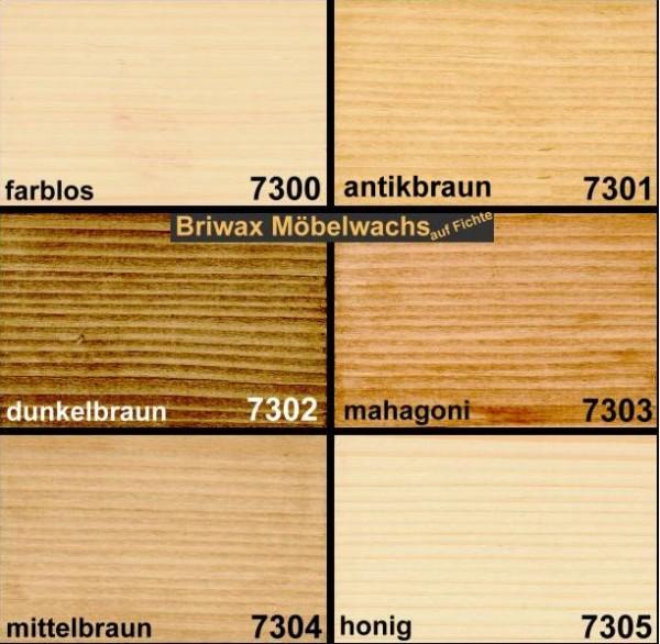 Briwax mittelbraun 5Liter, Art.73045 - B