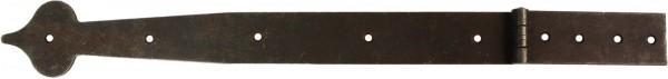 Truhenband Art. 5214, Eisen alt. Gesamt-Länge 385 mm
