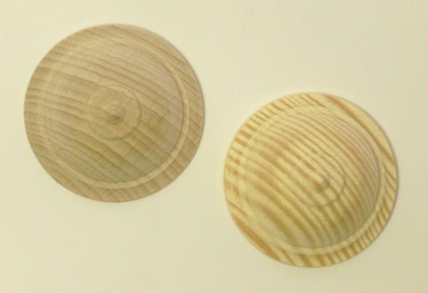 Holzzierteil in Buche oder Kiefer lieferbar, Ø ca.40mm, Art.6018
