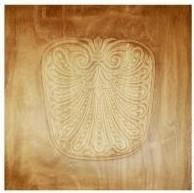Stuhl Sitz Platte Buche Muster Geprägt 480*480 Art 8080pl