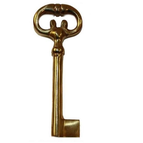 Möbel-Schlüssel Messing, Art. 5046