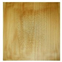 Stuhl Sitz Platte Buche Muster Geprägt 480*480, Art 8081pl
