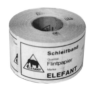 Schleifband-Rolle Schleifpapier Körnung 100, Art.85100-50 Bestell-Artikel!!!