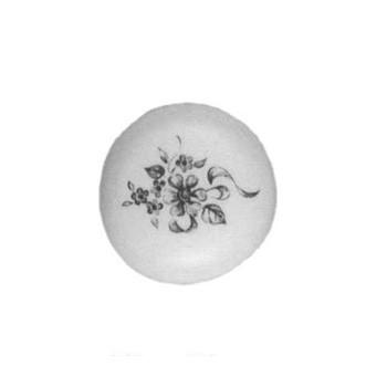 Möbelknopf Porzellan mit blauem Dekor ca.Ø 35mm, Art.43535 - Auslauf-Artikel!!!