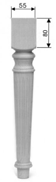 Stuhlbein, Tischbein Art. 63105 D= ca.55 mm, ca. 450mm lang