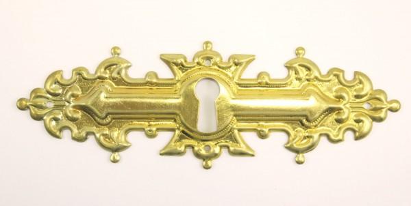 Beschlag in Messing oder Nickel, ca. 39*116mm, Art. 1047