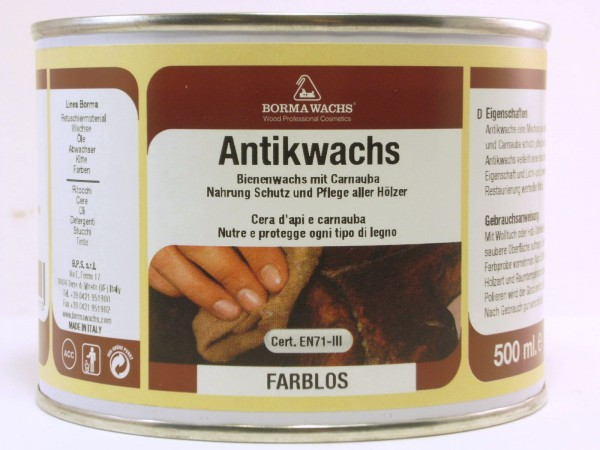 Borma Antik-Wachs farblos 500ml Art.7320