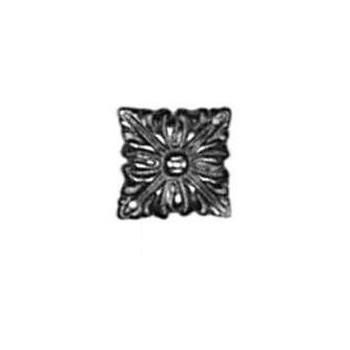Rosette Art. 3419 Messing ca.19x19mm - Auslauf-Artikel!