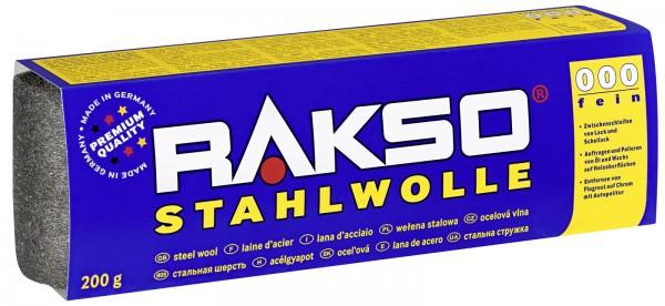 Rakso Stahlwolle Sorte: 0000 feinst, Art.497