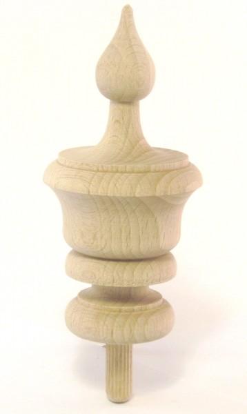 Holzzierteil Art. 7005 Türmchen aus Buchenholz. Maße: ca. 110*50mm