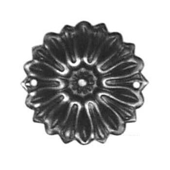 Rosette Art. 3443 Messing ca.Ø 43mm - Auslauf-Artikel!