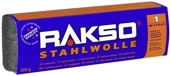 Rakso Stahlwolle Sorte: 0 fein, Art.500