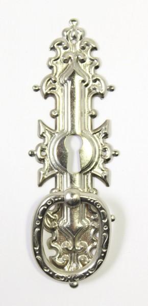 Auslauf-Artikel!! Beschlag in Messing oder Nickel, ca.116*39mm, Art.1045