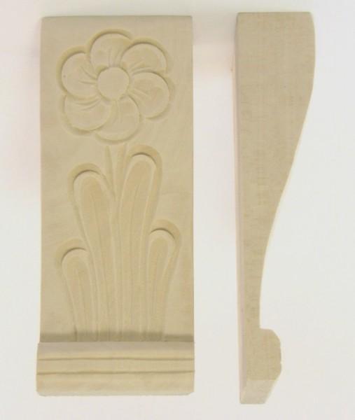 Geschnitzte Auflage Art. 65006 ca. 52*130mm, Linde - Bestell-Artikel!!!