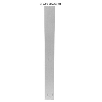 Eckiges Tischbein Art. 63109 Maße:60*60mm, ca. 760mm lang