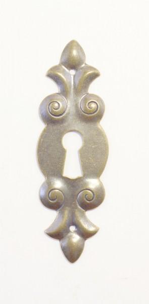 Beschlag Art. 1300 in Messing ca. 77*25mm
